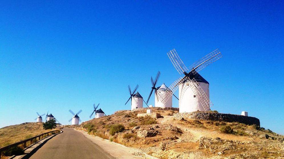 Foto: Haz la ruta de los molinos, cual Quijote, por La Mancha. (Foto: Turismo Consuegra)