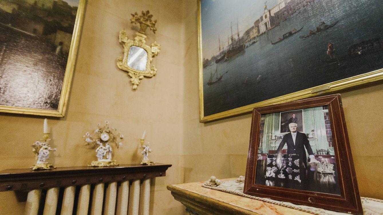 Foto: Foto del duque de Alba en el palacio de Monterrey. (Cortesía)