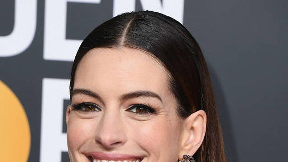 Foto: Anne Hathaway ha sido una de las famosas en sumarse al reto. (Getty)