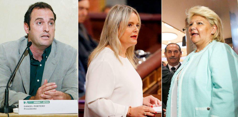 Foto: Daniel Portero, Marimar Blanco y Ángeles Pedraza.