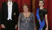 Noticia de Un sencillo menú y la música de Serrat marcan la primera cena de gala de los Reyes