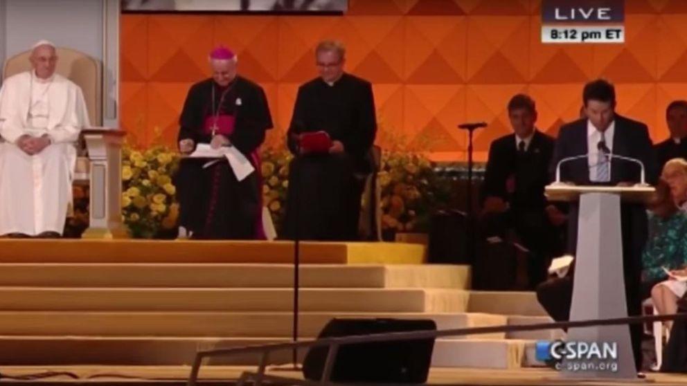 Mark Wahlberg le pide al papa Francisco que lo perdone
