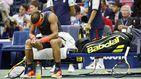 Rafa Nadal sucumbe a los problemas de rodilla y da vía libre al tesón de Del Potro