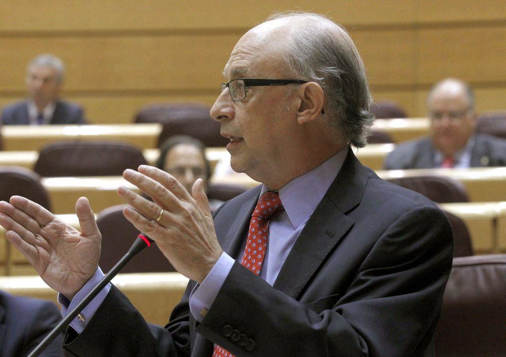 Foto: Sesión de control al Gobierno en el Senado