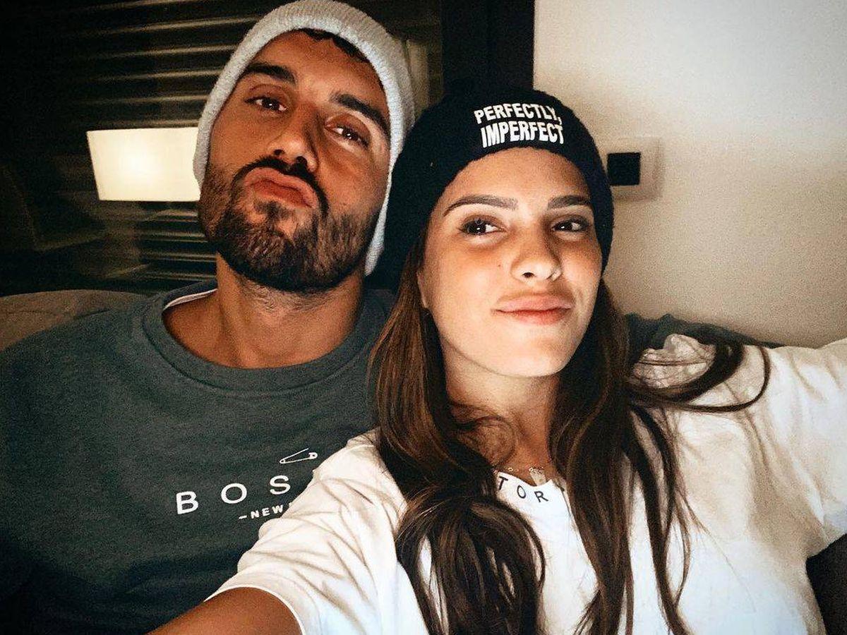 Foto: Gloria Camila y su novio David. (Instagram @gloriacamilaortega)