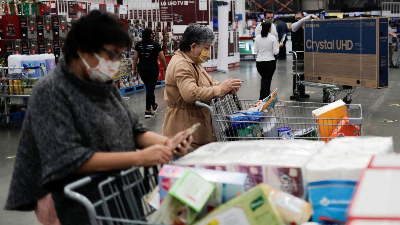 Un supermercado en México. (EFE)