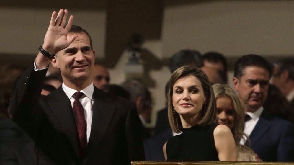 Foto: Los Reyes en un reciente acto público. (EFE)
