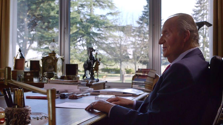 Foto: El Rey Juan Carlos durante la entrevista concedida a la televisión francesa