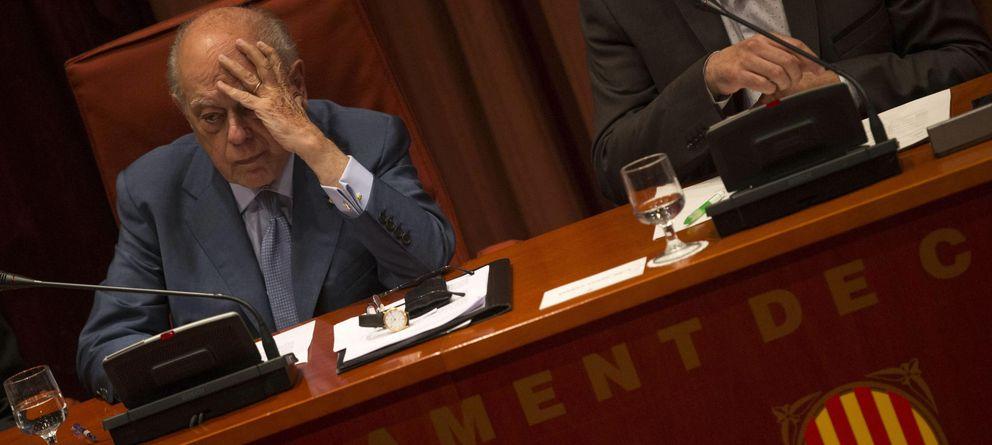 Foto:  El expresidente de la Generalitat, Jordi Pujol, durante su comparecencia en el Parlamento catalán. (EFE)