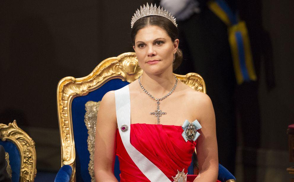Foto: Victoria de Suecia, en la ceremonia de los Nobel (Gtres)