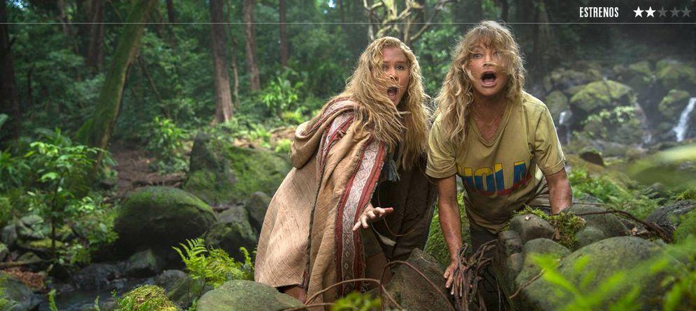 Foto: Amy Schumer y Goldie Hawn, en 'Descontroladas'. (20th Century Fox)
