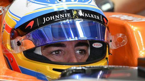 Alonso, hasta las narices: Ir detrás de 19 coches con todo el aire turbulento