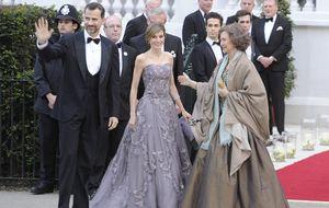 Los príncipes y la reina, alojados en hoteles diferentes por un error de Buckingham