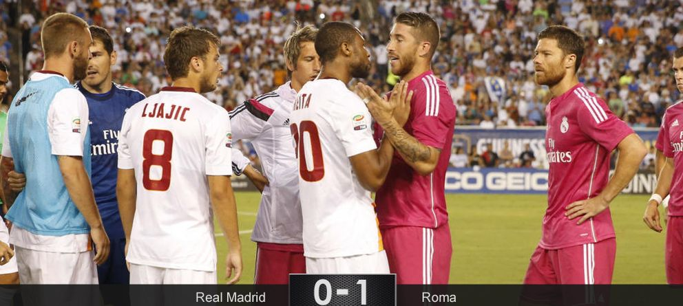 La agresión de Keita a Pepe 'tapa' el tropiezo del Madrid en su primera gran prueba
