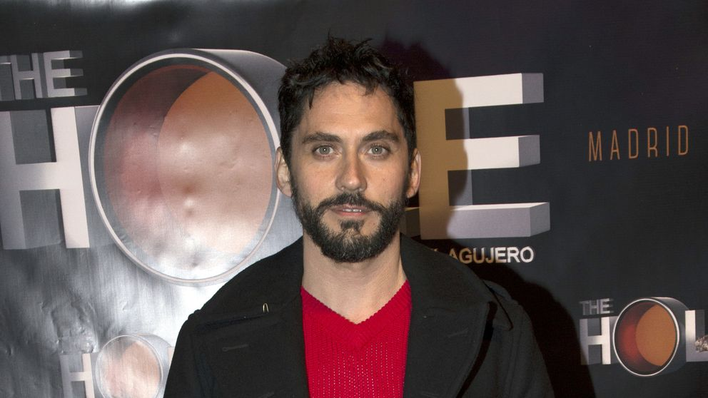 Paco León, Rafael Amargo y Anabel Alonso en el navideño show de 'The Hole'