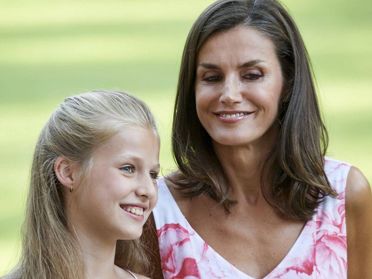 Foto: La Reina y la Princesa de Asturias, en una imagen de archivo. (Reuters)