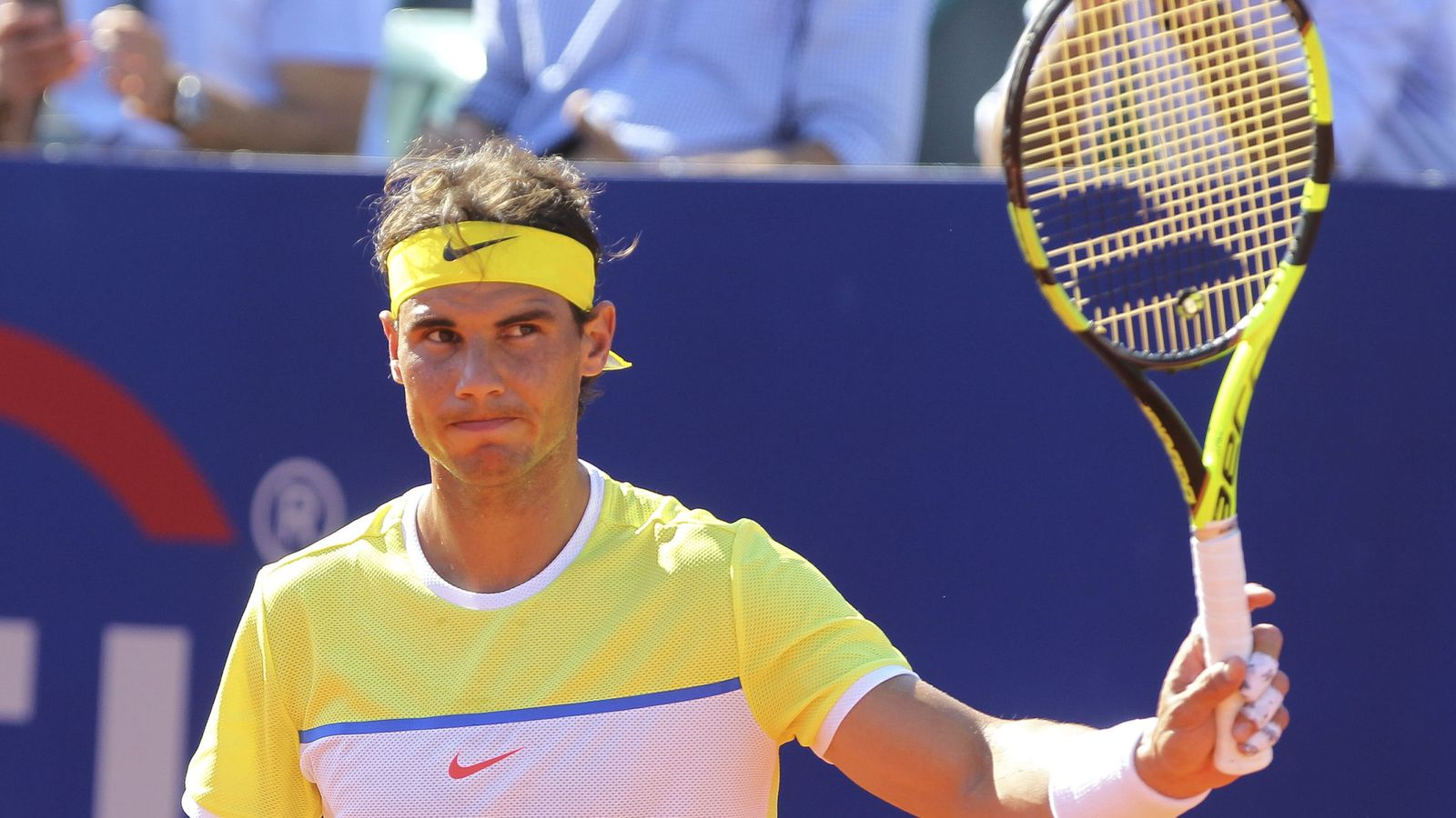 Foto: Rafa Nadal en su partido ante Paolo Lorenzi (Efe).