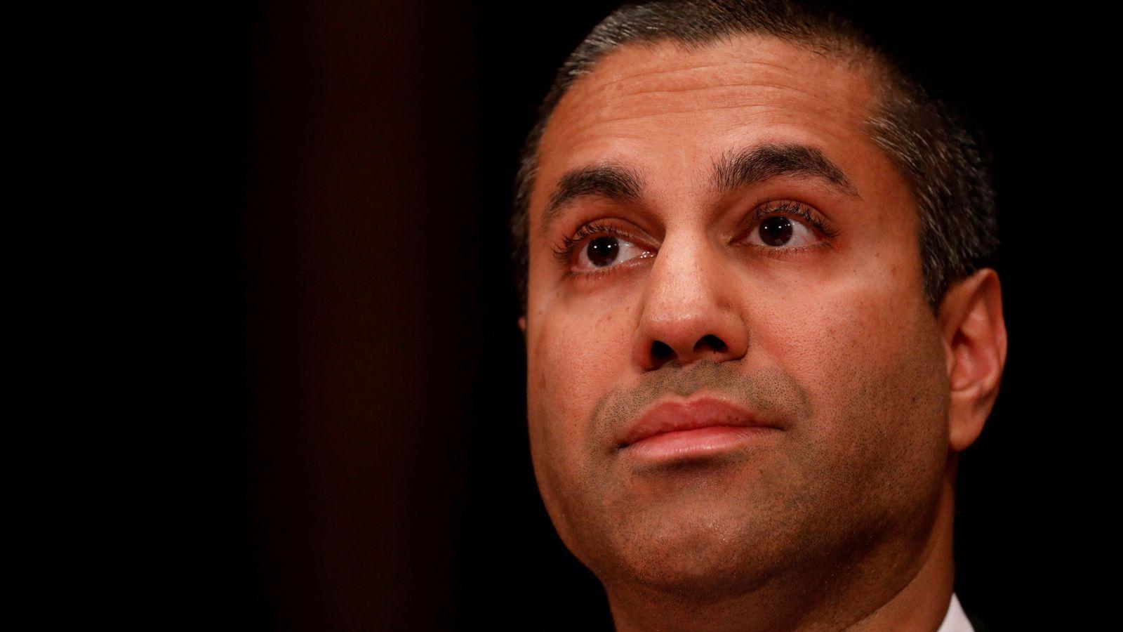Foto: Ajit Pai, presidente de la FCC. (Reuters)