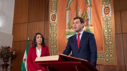 Gobierno andaluz a dos velocidades: duelo Moreno-Rivera en el estreno