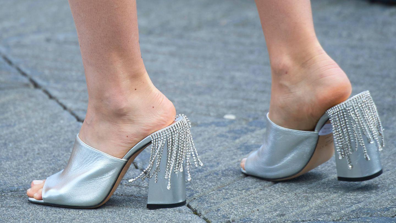 Detalle de las sandalias. (LP)