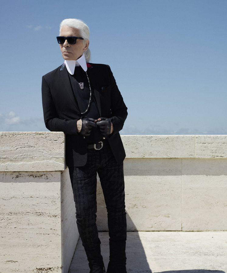 Foto: Karl Lagerfeld. (Fendi)