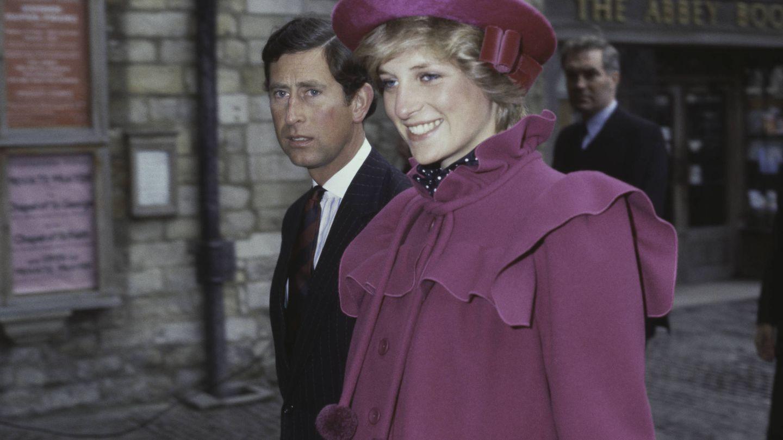 Una imagen de los príncipes de Gales en sus años felices. (Getty)