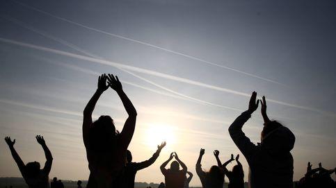 Celebración del solsticio de verano en Stonehenge