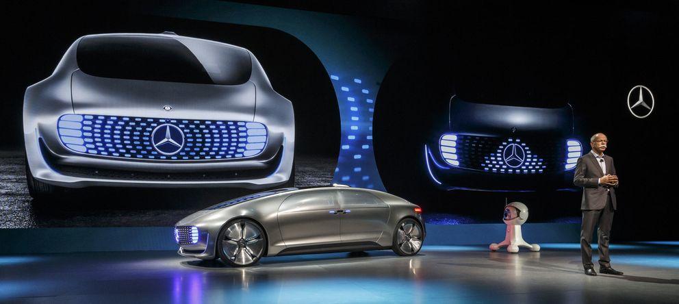 Foto: El Mercedes F015 Luxury in Motion presentado en el CES 2015.