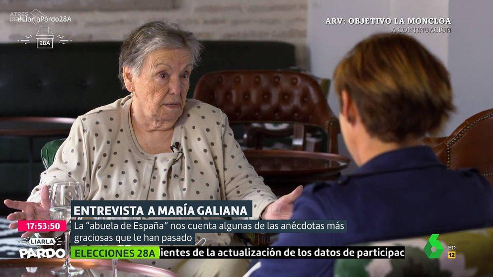María Galiana con Cristina Pardo: El Valle de los Caídos me parece un horror