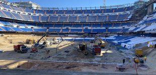 Post de El 'túnel de la risa' retrasa la construcción de la joya del nuevo Santiago Bernabéu