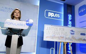 Un cambio de última hora mejora la intervención de Aznar