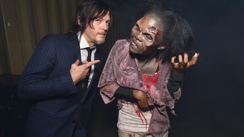 Norman Reedus, en un acto promocional de 'The Walking Dead' | AMC/AP