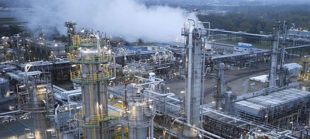 Foto: Central petroquímica en Alemania. (Reuters)