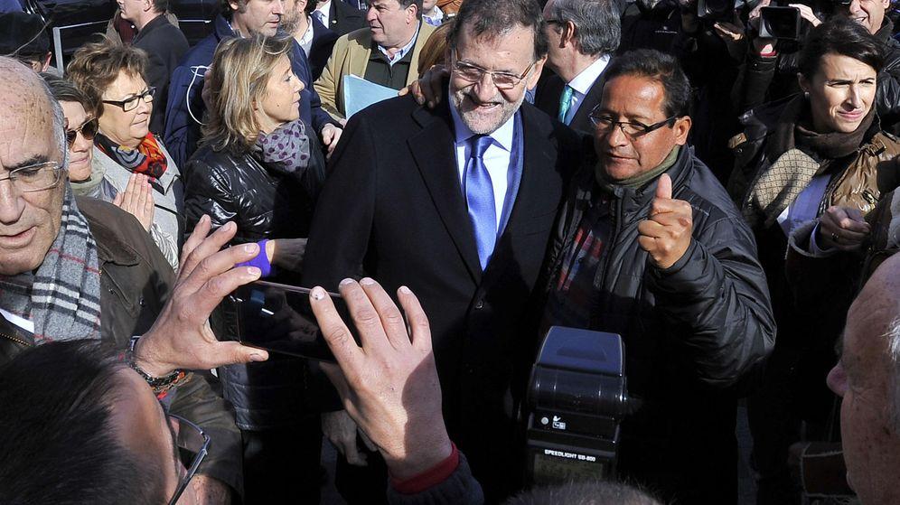 Foto: Mariano Rajoy visitó un colegio en La Roda el pasado noviembre, en la precampaña del 20-D. (EFE)