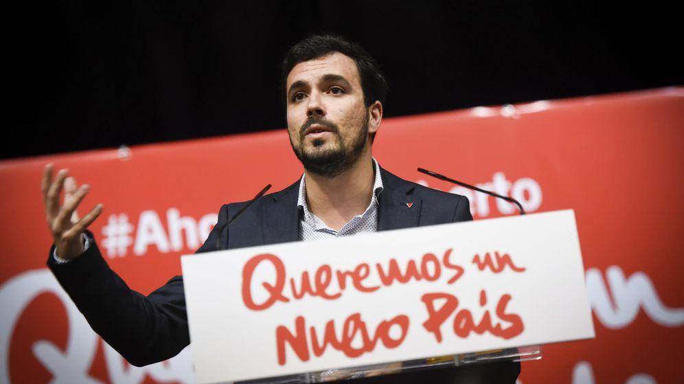 Foto: El candidato de IU a la Presidencia del Gobierno, Alberto Garzón. (EFE)
