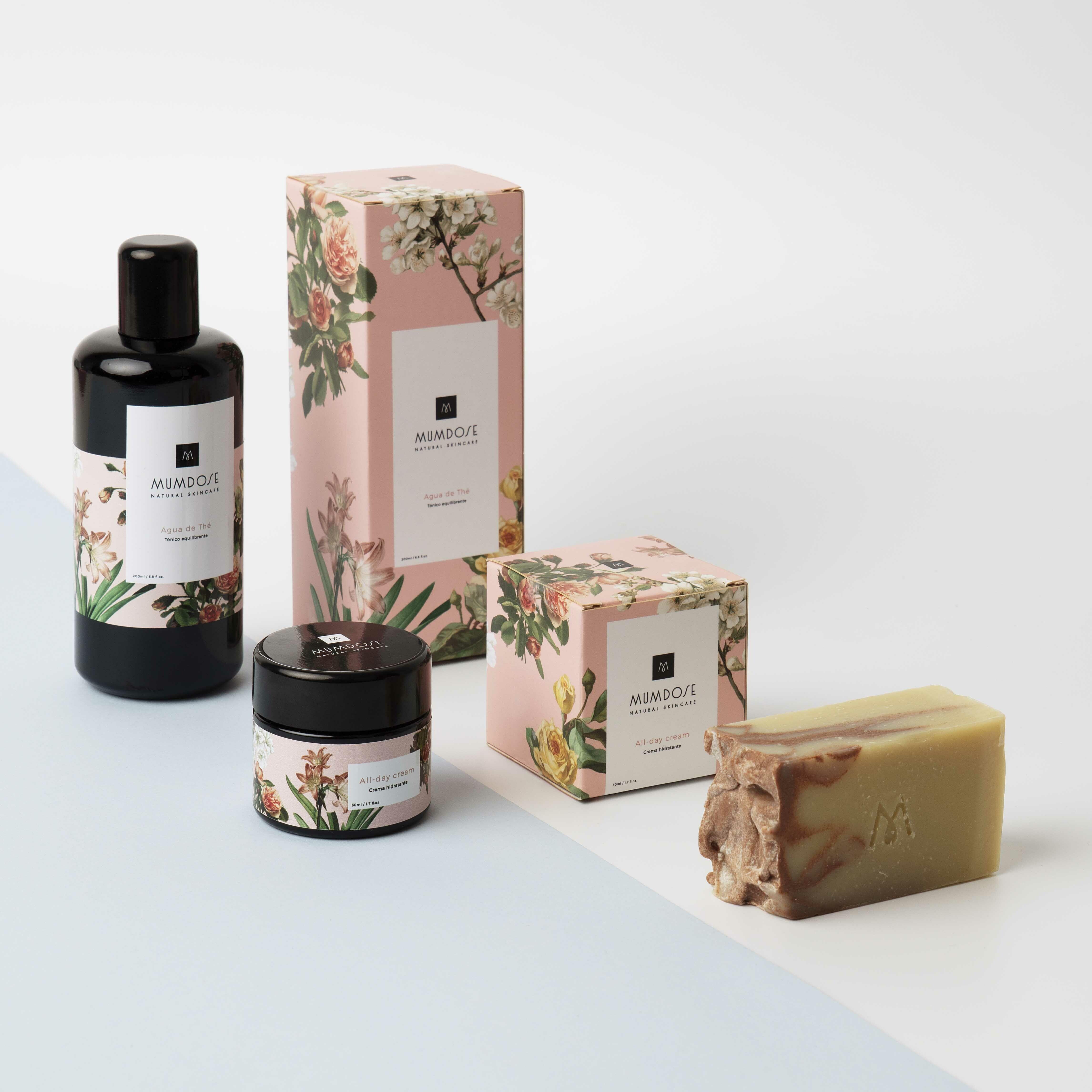 Kit de productos de Mumdose. (Cortesía de la marca)