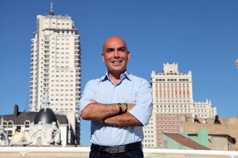 Foto: Kike Sarasol,a en el primer edificio completo de apartamentos Be Mate, ubicado junto a la plaza de España.
