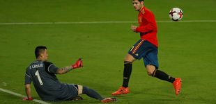 Post de Morata o la felicidad del delantero