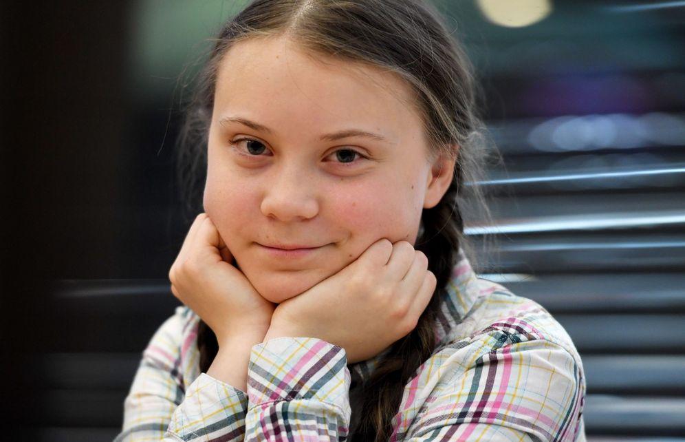 Foto: La activista contra el cambio climático Greta Thunberg