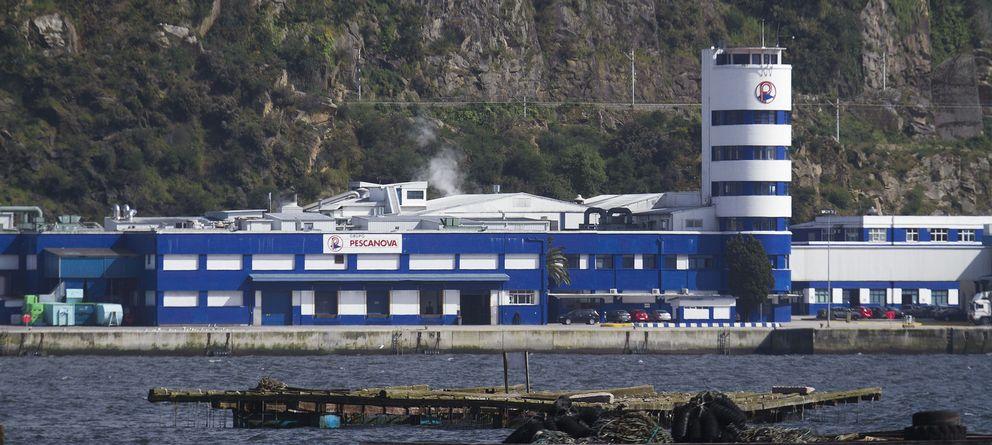 Foto: Factoría de Pescanova en la ría de Vigo