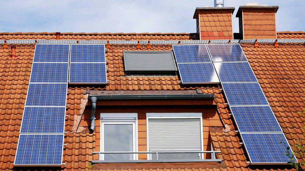 Foto: Vivienda con paneles solares