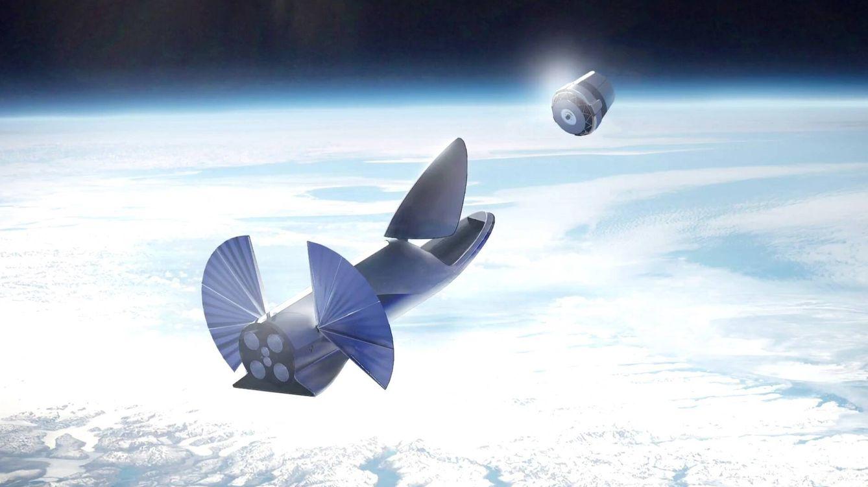El loco plan de Elon Musk para eliminar la basura espacial