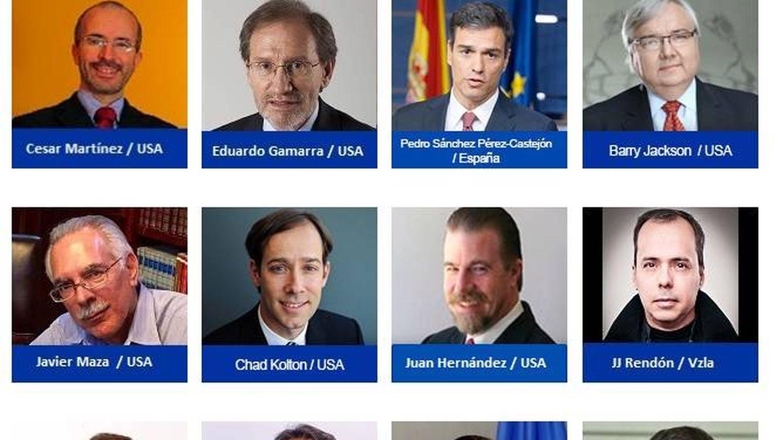 Foto: Panel de oradores del seminario organizado en Washington. (Foto: www.centropolitico.org)