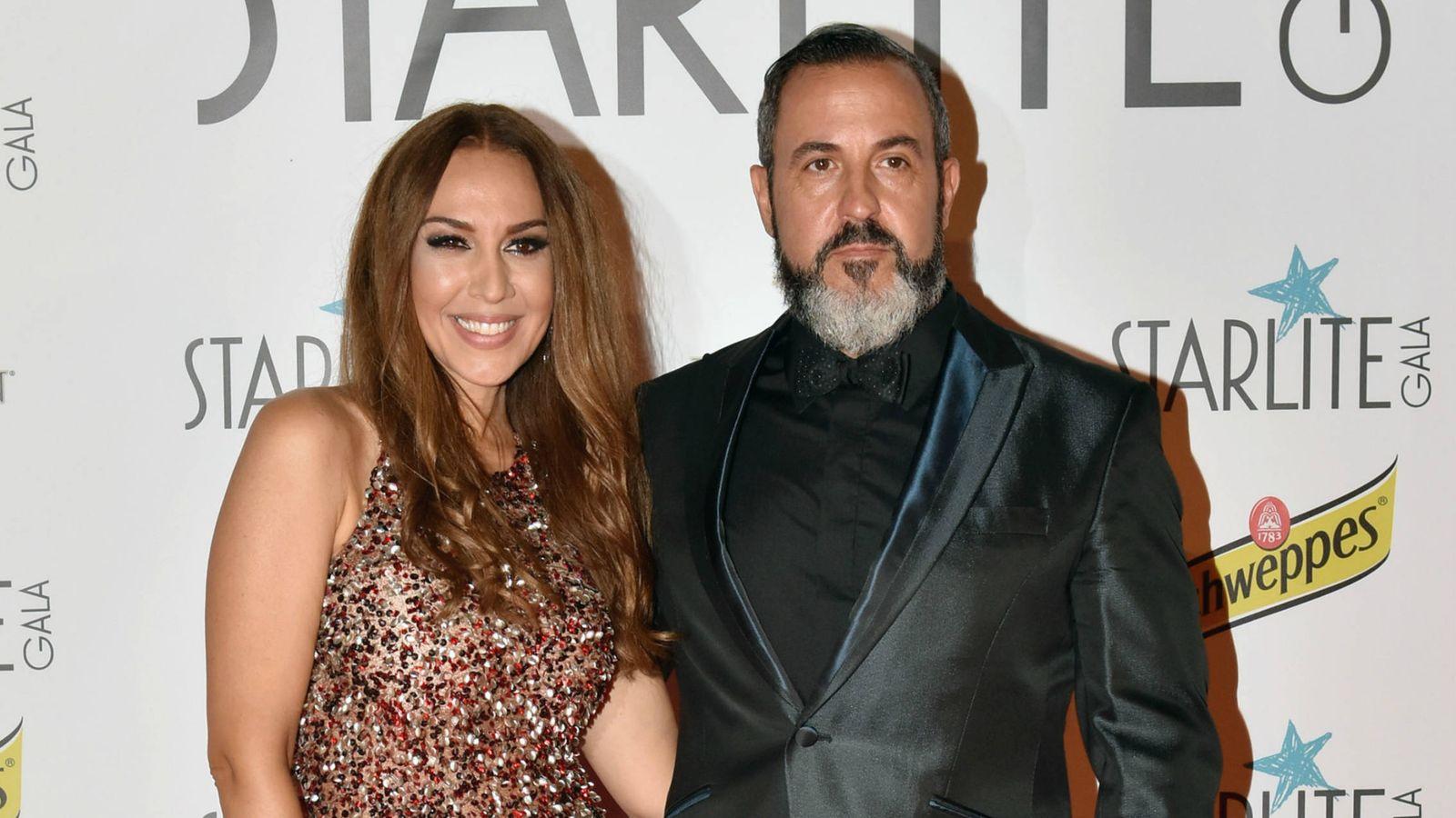 Foto: Mónica Naranjo y su marido, Óscar Tarruella.