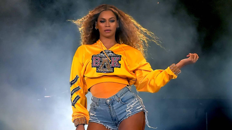 Beyoncé Knowles en el festival de Coachella de 2018. (Getty)
