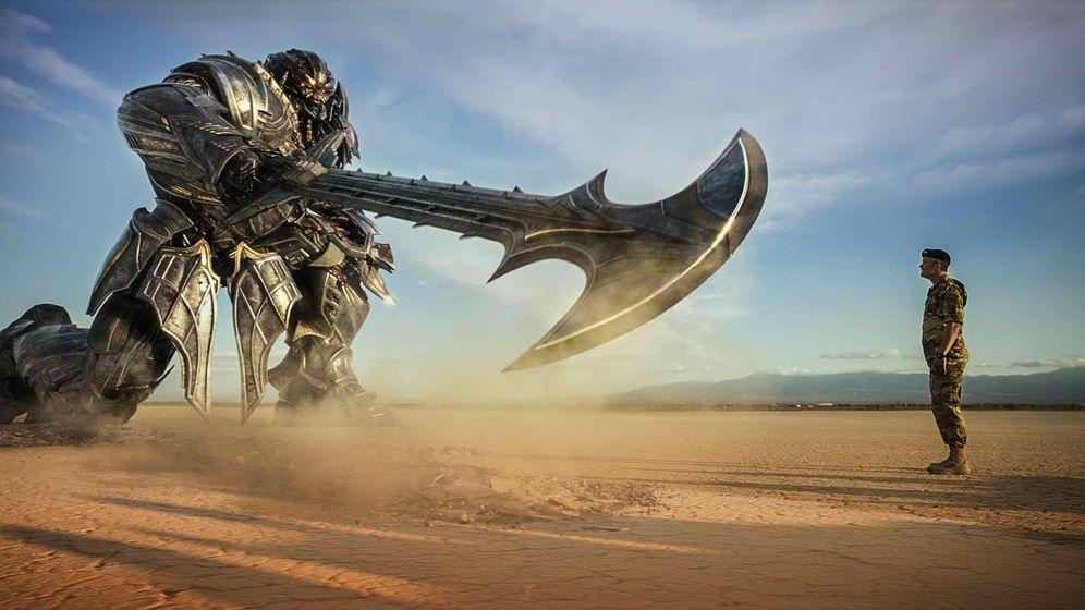 Foto: Fotograma de 'Transformers: el último caballero'. (Paramount)