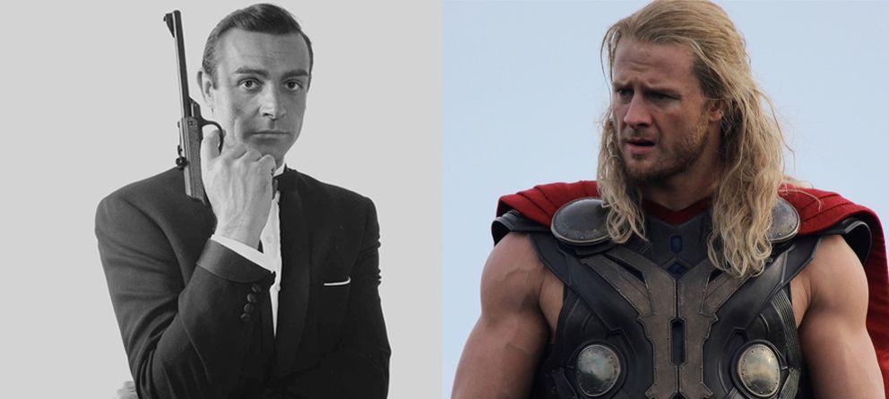 Foto: Tanto Sean Connery como Chris Hemsworth han sido elegidos el hombre más sexy del mundo por la revista People.