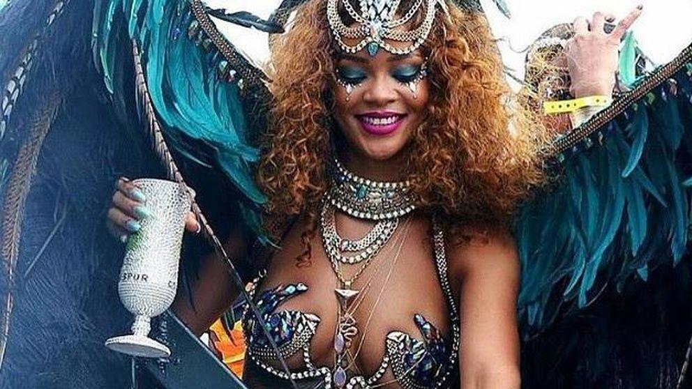 Rihanna luce tipazo en el carnaval de Barbados