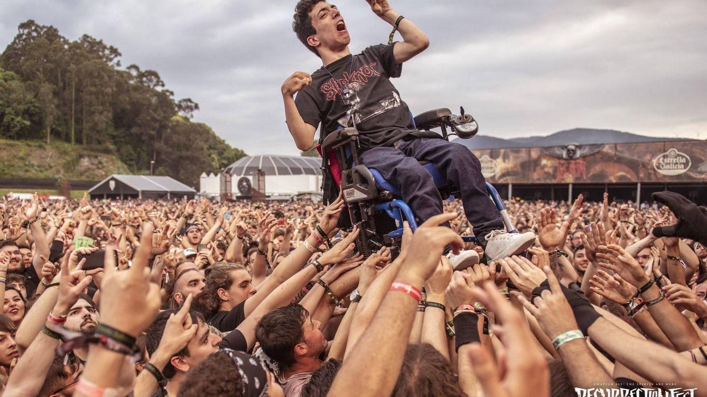 La historia detrás de la foto del Resurrection Fest que emociona al mundo del rock