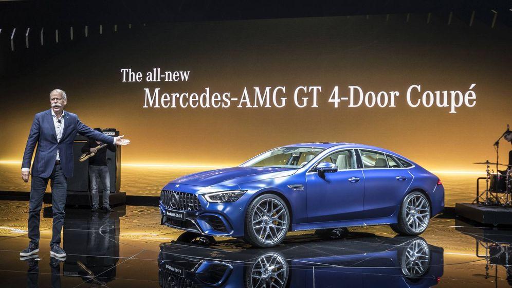 Foto: Mercedes AMG GT Coupé, un CLS potenciado